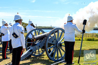 6lb Cannon firing